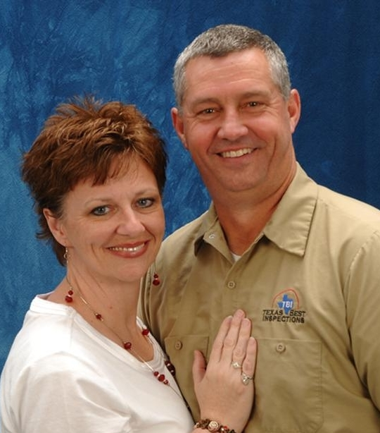 Gordon Law & Jennifer Law of Texas Best Inspections